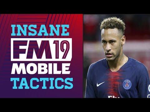 Football Manager Mobile 2019   Asymmetric Winner   Tactics