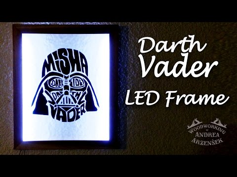 Darth Vader LED Frame - Ep 029 (Star Wars Challenge)