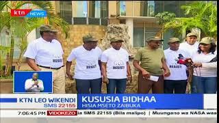 Viongozi wa Jubiee wausuta muungano wa NASA kwa kuzindua vugu vugu wa NRM