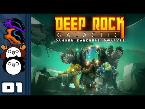 Let's Play Deep Rock Galactic Multiplayer - Part 1 - Let The Barrellnanigans Begin Again!