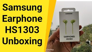 Samsung Earphone HS1303 Unboxing And Review | Should You Buy ?