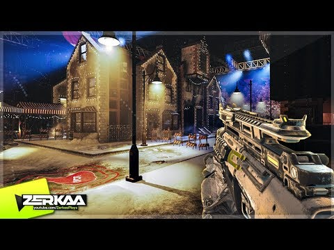 XMAS ZOMBIES MAP 'STUDIO 115' WITH FLYING SANTA SLEIGH! (Black Ops 3 Custom Zombies)