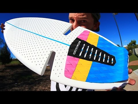TESTING OUT A RIPSURF!