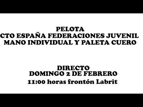 Cto. España Federaciones