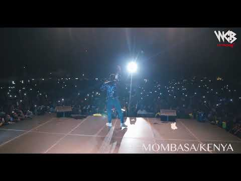 Diamond Platnumz -  Performing live at Mombasa  Part 2 (wasafi festival 2018)