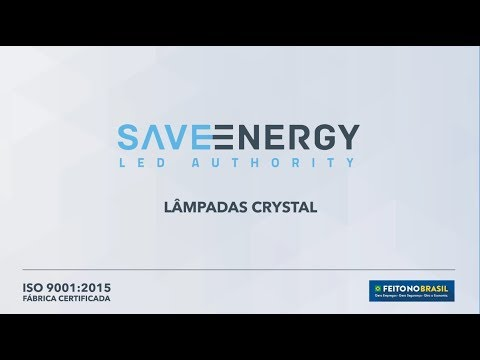 Saveenergy | Lâmpadas Crystal