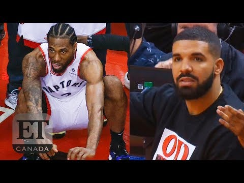 1f85dd44 Kawhi Leonard, Drake React To Game 7 Winning Shot