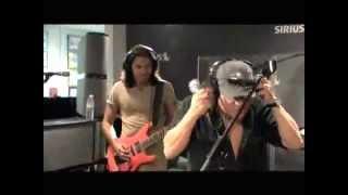 "AC/DC Brian Johnson needing autotune? We don't think so. Singing ""Rock N Roll Ain't Noise Polution"""