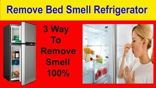 How to remove smell from refrigerator just 1 day