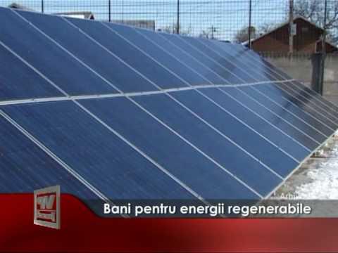 Bani pentru energii regenerabile