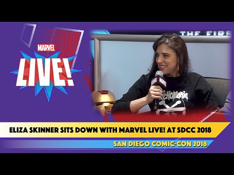 Comedian Eliza SkinnerChats about the Magic of Playlists at SDCC 2018