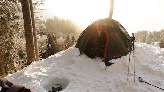 Pulcatour   Wintercamping Jura Mountains   France   CC -26°C