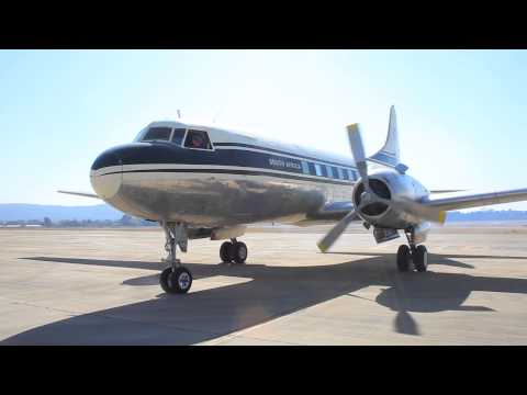 Convair 440 ZS-BRV Engine Start Mp3