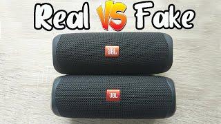 Fake vs Real JBL Flip 5