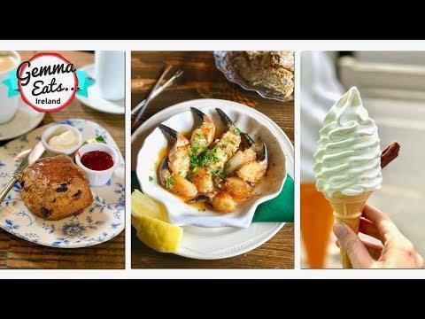 Gemma Eats…Ireland   Travel Food Show IRISH Scones Seafood & Desserts