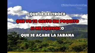 Karaoke Elisa Guerrero - Juro que te Gusto