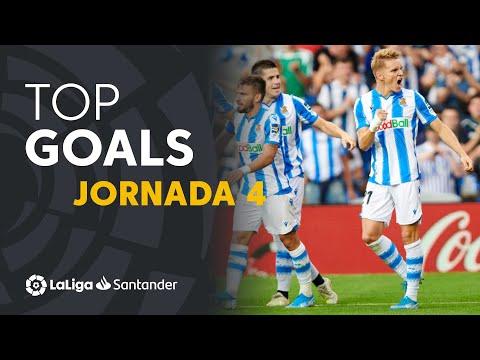 Todos los goles de la jornada 04 de LaLiga Santander 2019/2020