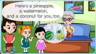 สื่อการเรียนการสอน Fruits (ผลไม้) ป.2 ภาษาอังกฤษ