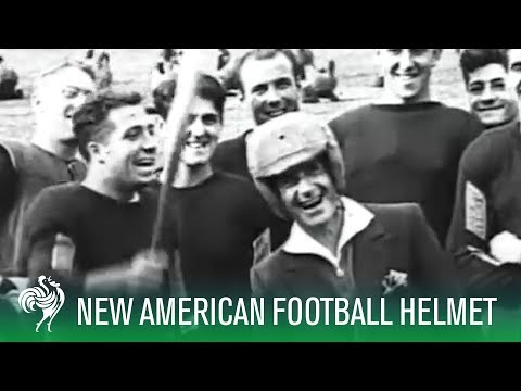 American Football Helmet Tested To Its Limits (1932) | Sporting History