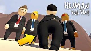 ЕСЛИ ПРЕЗИДЕНТЫ ОПОЗДАЮТ ИМ БУДЕТ ЭТО !!! МУЛЬТИК в Human Fall Flat !!!