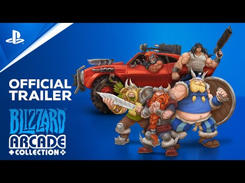 Blizzard Arcade Collection arrives today on PS4 and PS5
