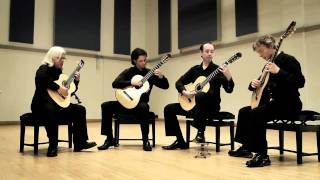 Aragonaise from Carmen by Bizet - Tetra Guitar Quartet
