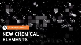 Threshold 3: New Chemical Elements | Big History Project