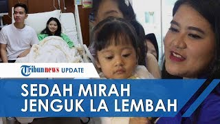 Sedah Mirah Ikut Kahiyang Ayu Jenguk Putri Selvi Ananda La Lembah Manah di RS PKU Muhammadiyah Solo