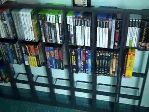 Videospiel, DVD, CD Regal Gestell Dingens