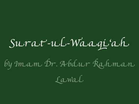 Surat-ul- Waaqi'ah