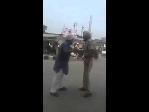 Sikh man fighting against corrupt punjab police   YouTube