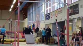 preview picture of video 'AGK 26 janvier 2014 quimper - Compétition gymnastique'
