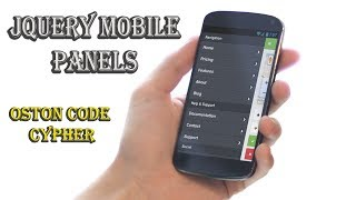 JQUERY MOBILE - Responsive Panels #10