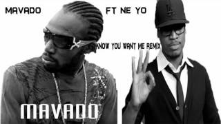Mavado Ft Ne-Yo - I Know You Want Me [ Official Remix ] - YouTube