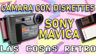 SONY Mavica – La RETRO CÁMARA que grababa en DISKETTES – Unboxing y Review