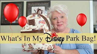 What's In My NEW Disney Park Bag? See What All Fits In My Backpack!