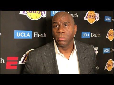 Magic Johnson says Pelicans didn't act in good faith on Anthony Davis trade talks l NBA Sound