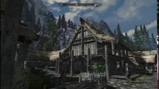 "TES V: Skyrim [MODS] [LEGENDARY] Едем в ""деревню"" к дедушке Эсберну. Крафт маски и кольца - 87"