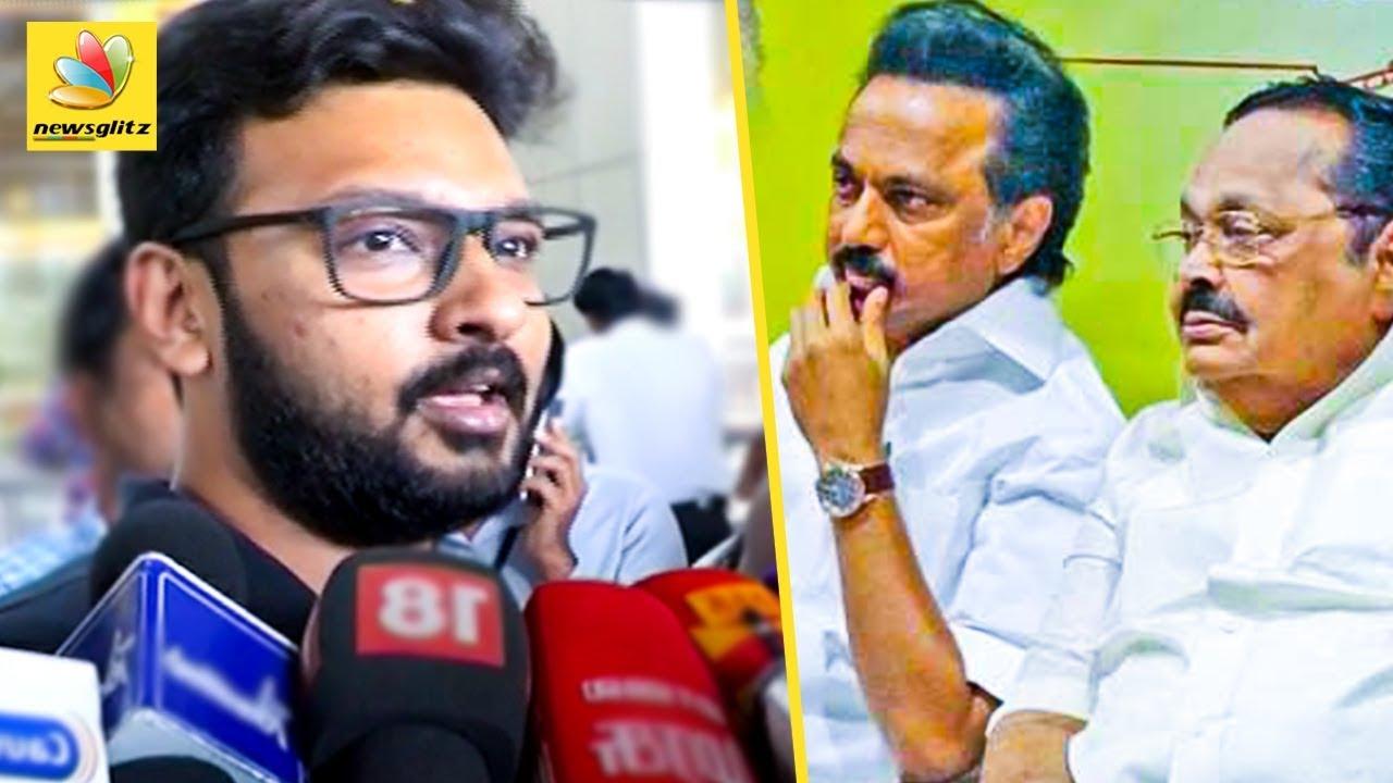 வாழ்த்தெல்லாம் சொல்ல மாட்டேன் : Dayanidhi Alagiri annoyed with Stalin   DMK President