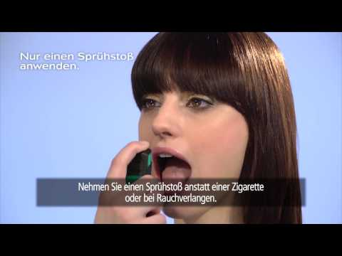NICORETTE® Spray Anwendung: So funktioniert's!