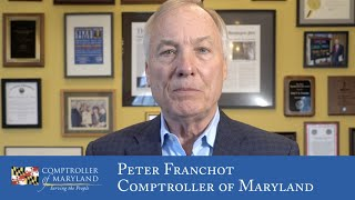 Coronavirus Tax Update - Comptroller of Maryland 3/16/20