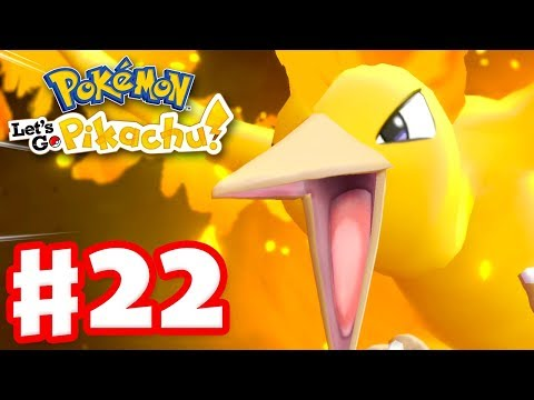 Legendary Pokemon Moltres! – Pokemon Let's Go Pikachu and Eevee – Gameplay Walkthrough Part 22