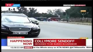 Bob Collymore's body  being transferred to Karioko for cremation