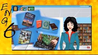 สื่อการเรียนการสอน Different Kinds of Books ป.6 ภาษาอังกฤษ
