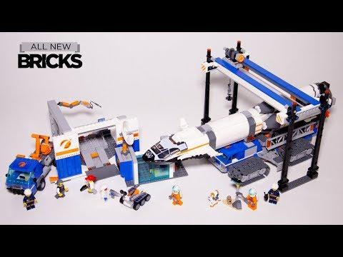 Vidéo LEGO City 60229 : Le transport de la fusée