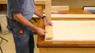 The Down to Earth Woodworker - Quick Kitchen Cabinet - Part 1