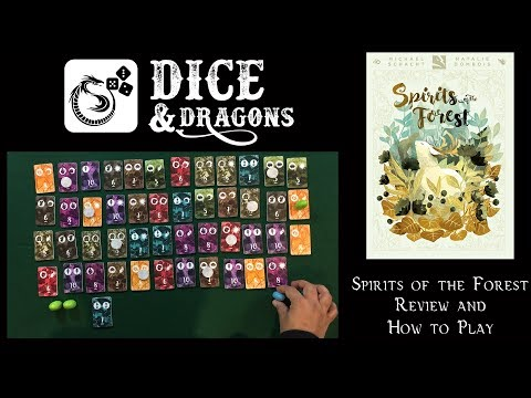Dice and Dragons - Spirits of the Forest Review and How to Play