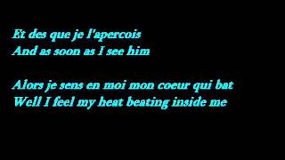Edith Piaf   La Vie En Rose Lyrics   French   English Translation   YouTube