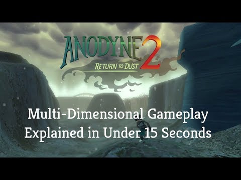 ANODYNE 2: Multi-Dimensional Gameplay Explained In 15 Seconds thumbnail