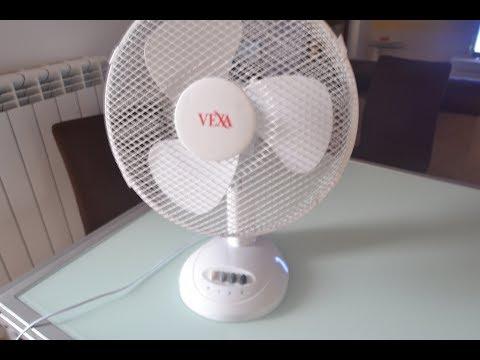 Pulire e smontare un ventilatore da tavolo
